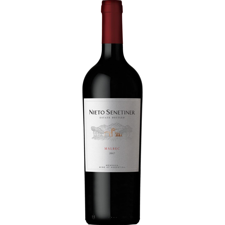 NIETO SENETINER Vino Estate Malbec X 750ml Sin color Vino Tinto