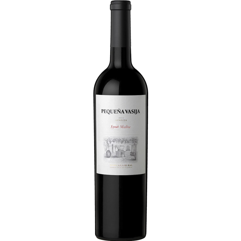 RUTINI VINO PQÑA VASIJA SYRAH/MALBEC X750ML Sin color Vino Tinto