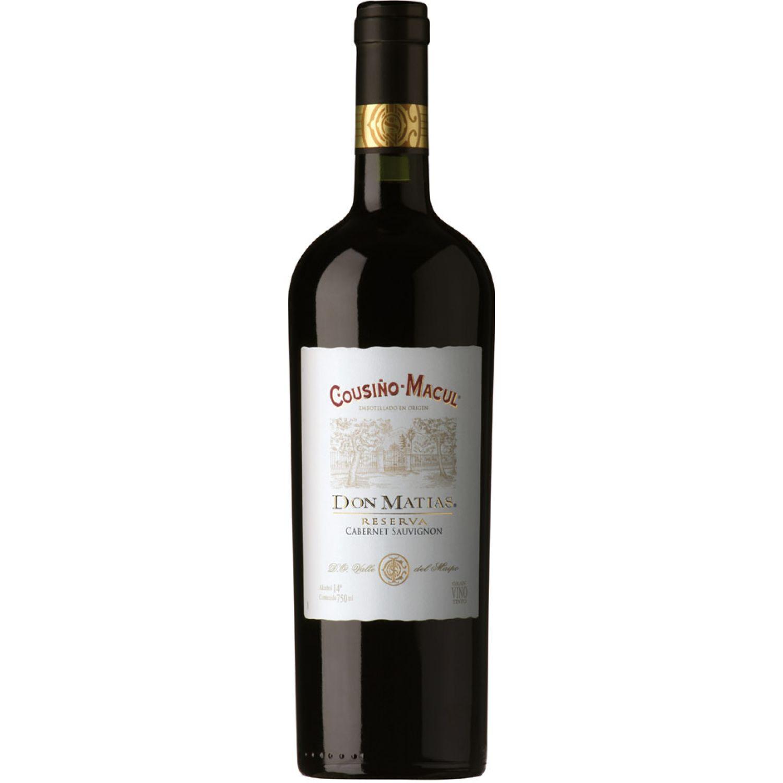 COUSIÑO MACUL Vino Don Matias Cabernet Sauv X750ml Sin color Vino Tinto