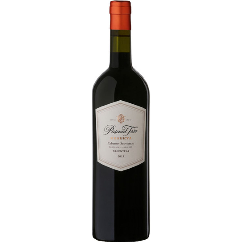 PASCUAL TOSO Vino Reserva Cabernet Sauvignon X750ml Sin color Vino Tinto