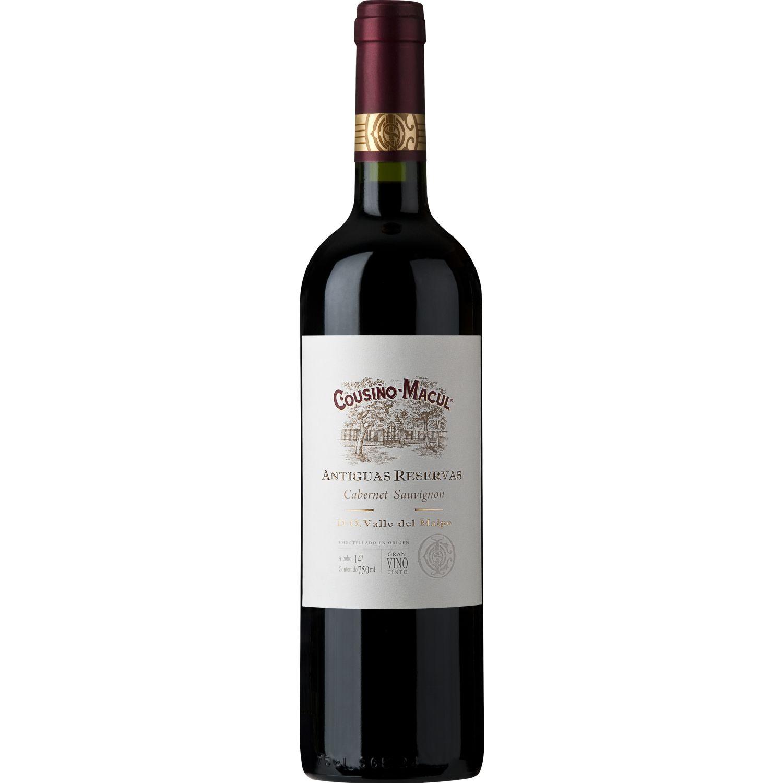 COUSIÑO MACUL Vino Antiguas Reservas Cab Sauv X750ml Sin color Tinto