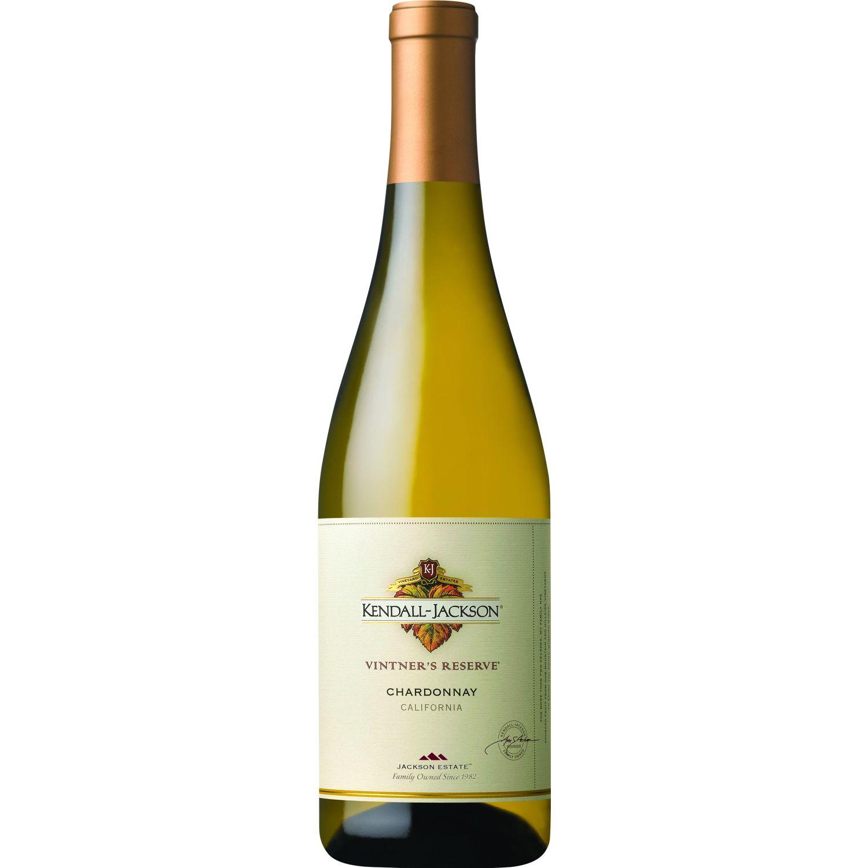 KENDALL JACKSON VINO RESERVE CHARDONNAY X 750ML Sin color Vino Blanco