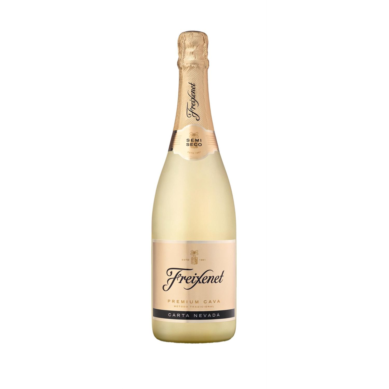 FREIXENET ESPUMANTE CARTA NEVADA DEMI-SEC X750ML Sin color Espumantes y Champagne