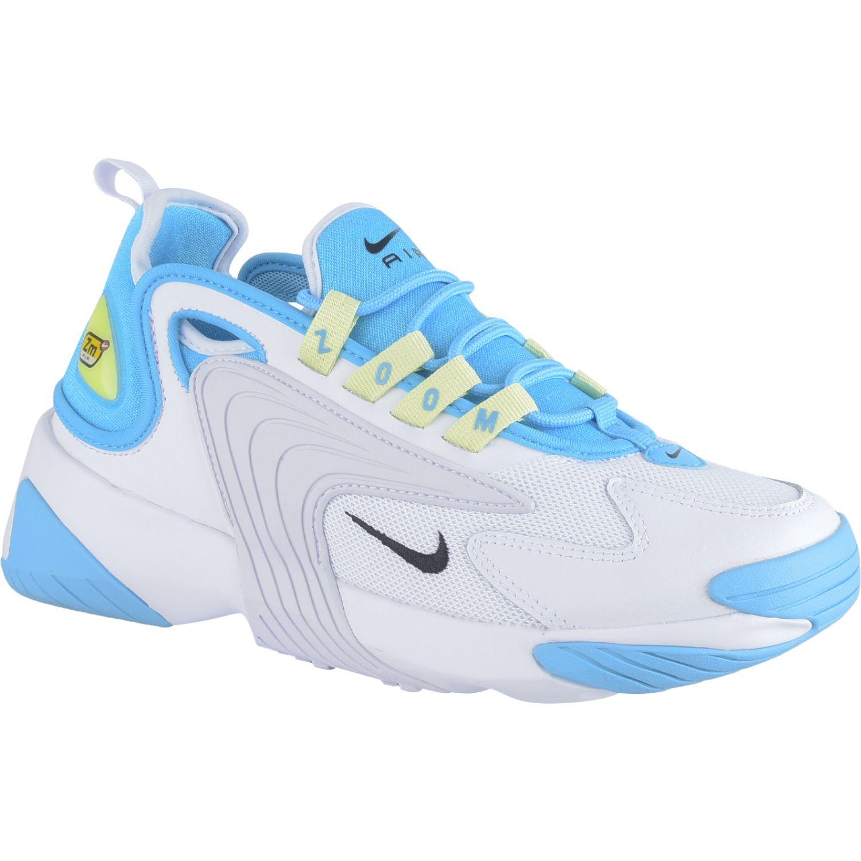 Nike Ao0354-401 Blanco / celeste Correr por carretera