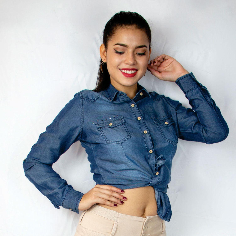 ZUARI Andry STONE BLUE Blusas y camisas con botones