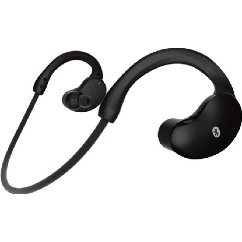 COBY Audífono Bluetooth de nuca c/microfono Negro Auriculares en la oreja