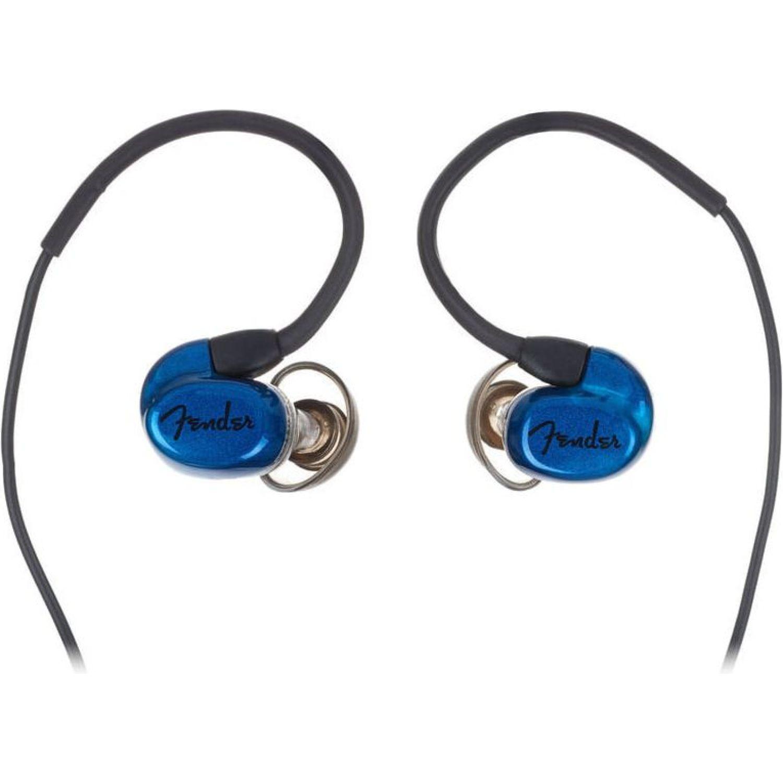 FENDER Audífono Aluminio Cable 1.2m Azul Auriculares en la oreja