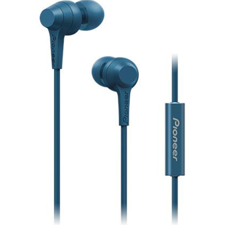 PIONEER Audífono Con Micrófono Azul Auriculares en la oreja