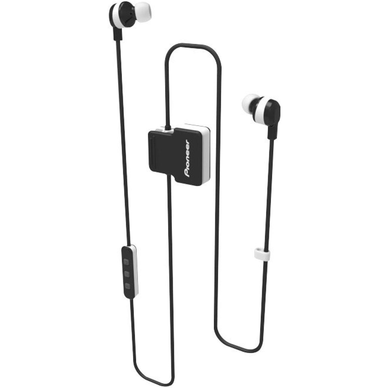 PIONEER Audífono Deportivo Bluetooth Blanco Auriculares en la oreja