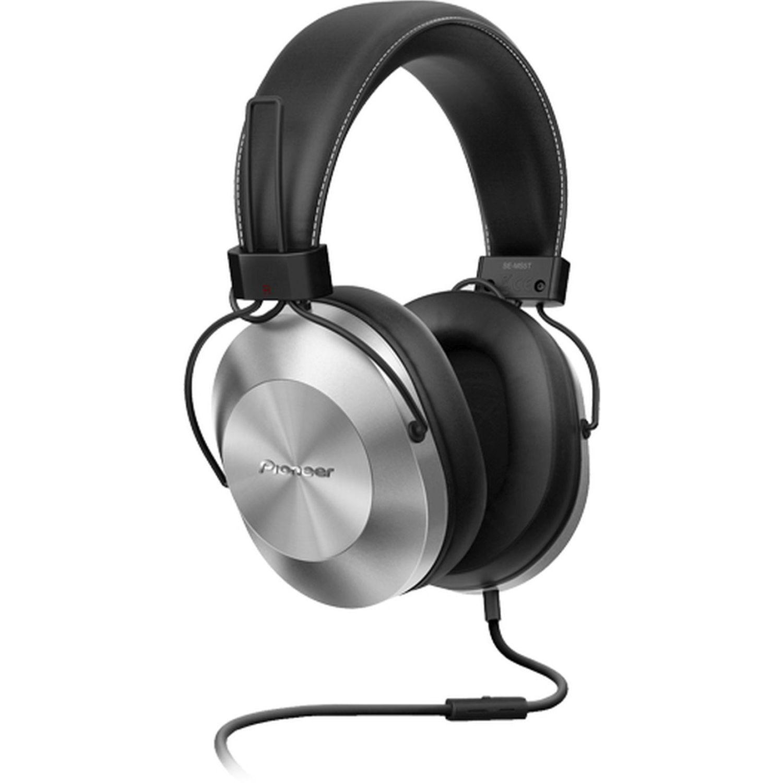 PIONEER Audífono tipo DJ con microfono Plata Auriculares en la oreja