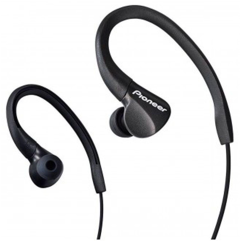 PIONEER Audífono Deportivo Negro Auriculares en la oreja