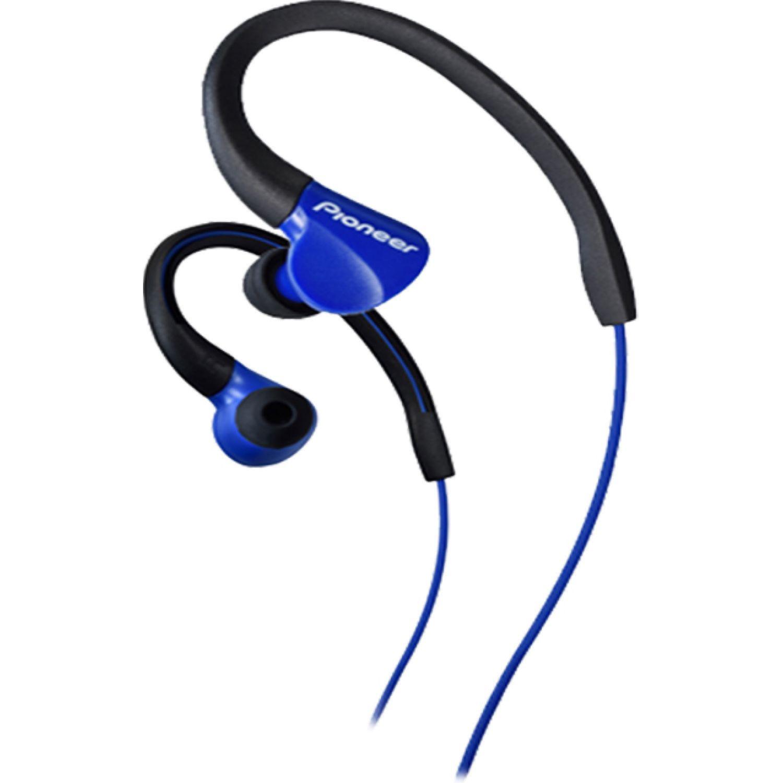 PIONEER Audífono Deportivo Azul Auriculares en la oreja