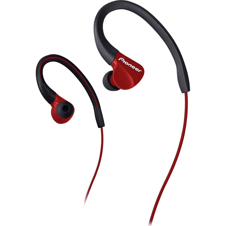 PIONEER Audífono Deportivo Rojo Auriculares en la oreja