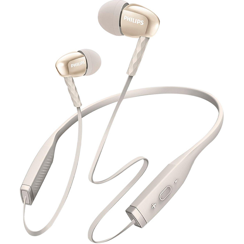 Philips Audífono Bluetooth De Nuca C/Micrófono Blanco Auriculares en la oreja