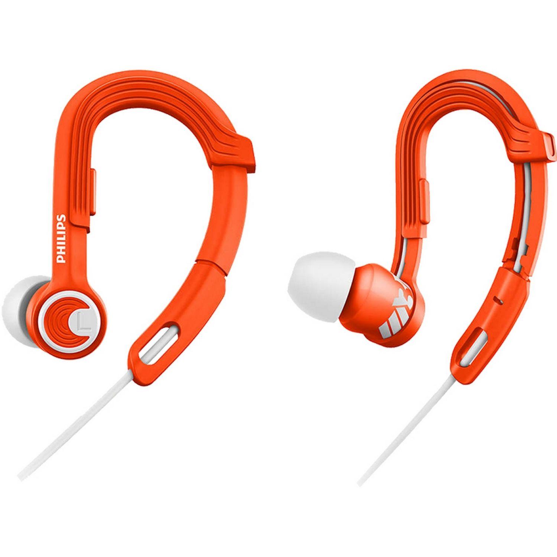 Philips Audífono Deportivo Naranja Auriculares en la oreja
