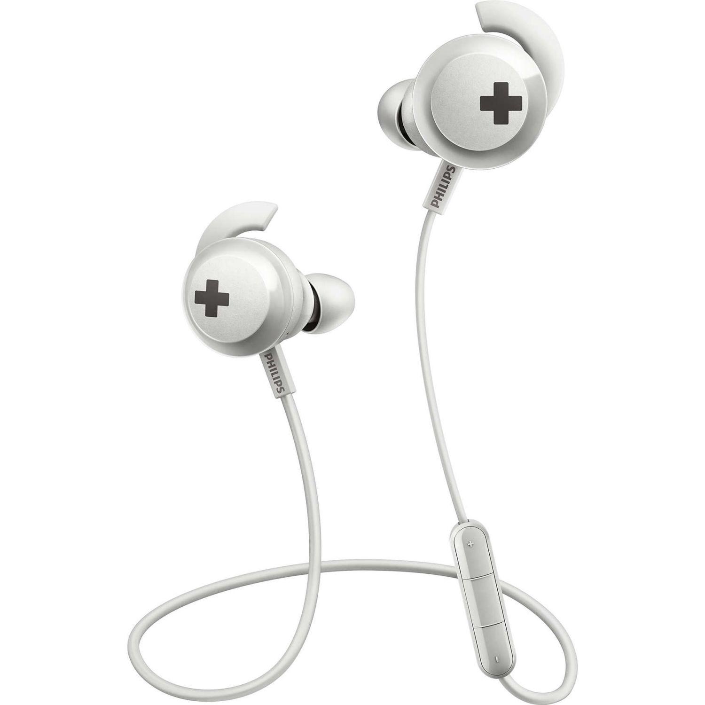Philips Audífono Bluetooth De Nuca C/Microfono Blanco Auriculares en la oreja