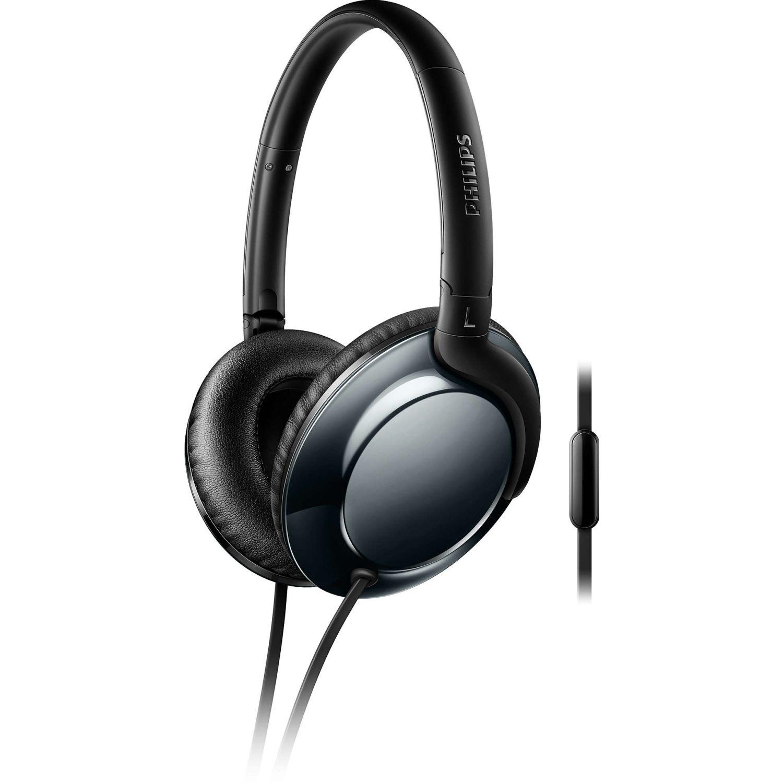 Philips Audífono Tipo Dj Con Microfono Navy Auriculares en la oreja