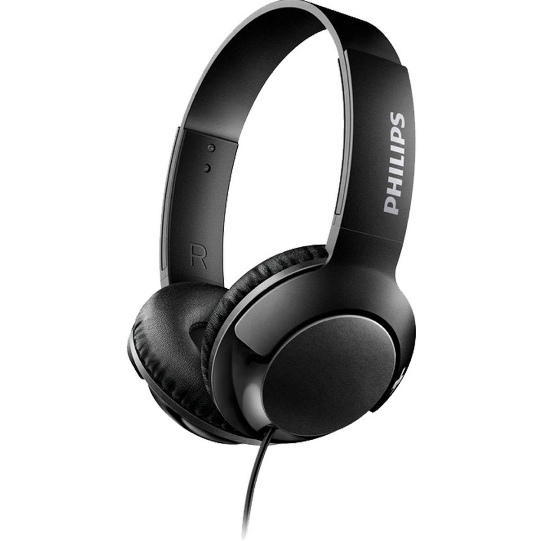 Philips Audífono tipo DJ SUPER BASS Negro Auriculares en la oreja