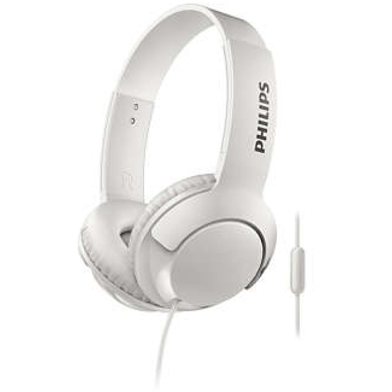 Philips Audífono Tipo Dj Con Microfono Blanco Auriculares en la oreja