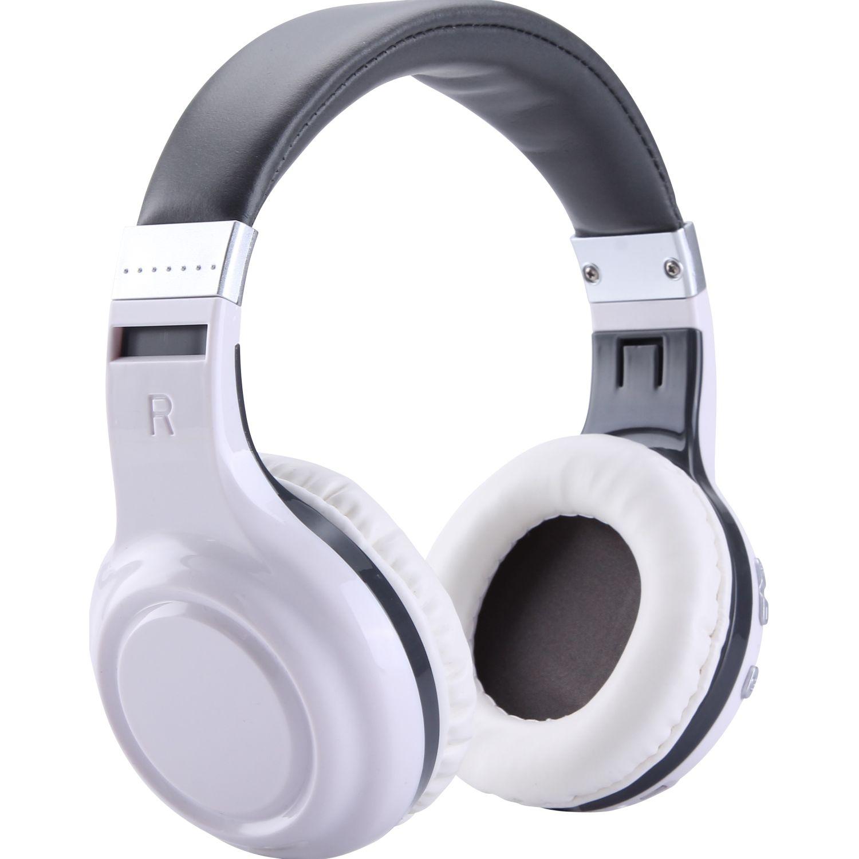 COBY Audífono Bluetooth tipo DJ OVER EAR Blanco / gris Auriculares en la oreja
