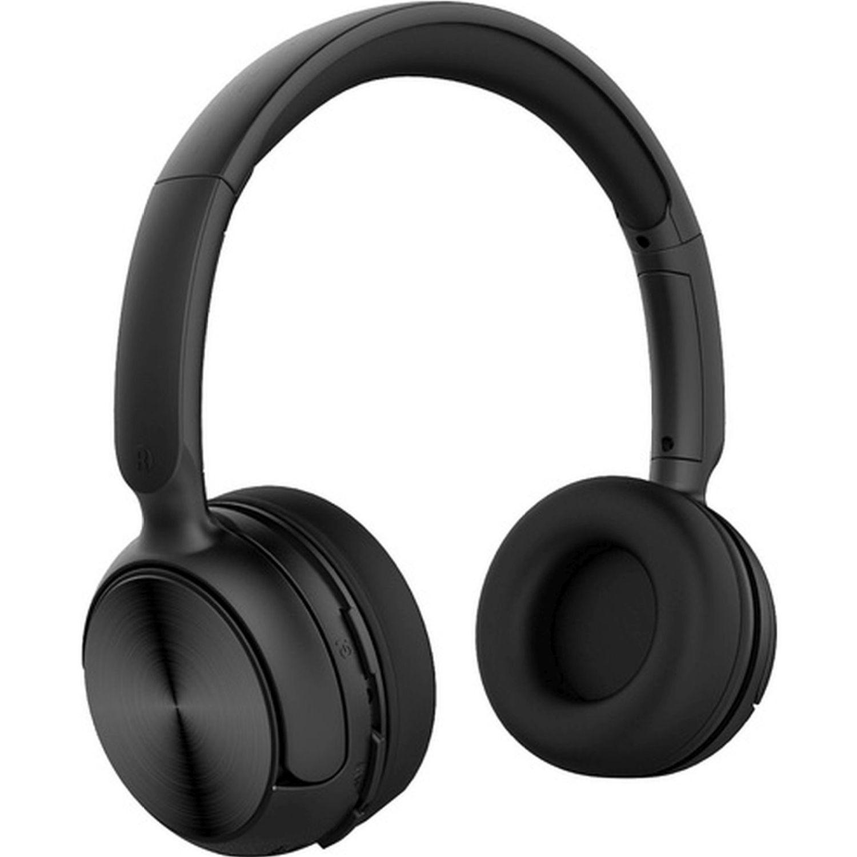 COBY Audífono Bluetooth Tipo Dj, Micrófono Negro Auriculares en la oreja