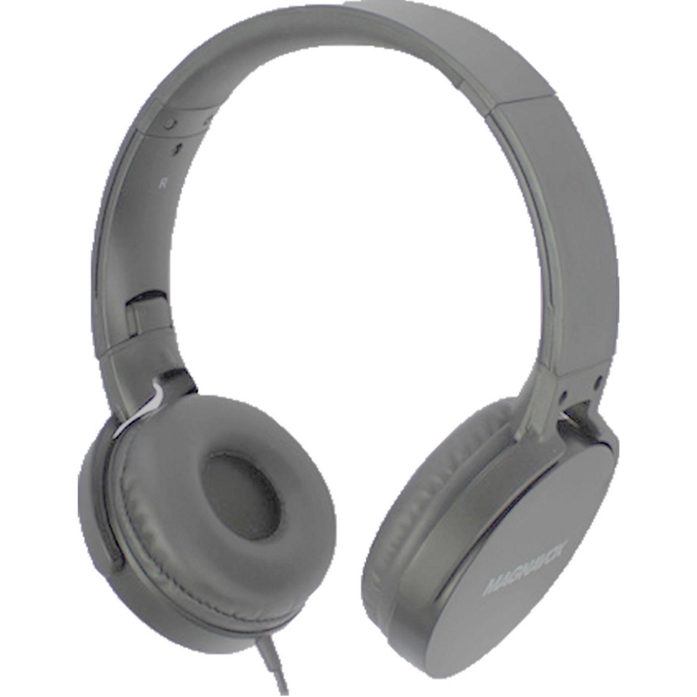 MAGNAVOX Audifono Dj Cable Plomo Auriculares en la oreja