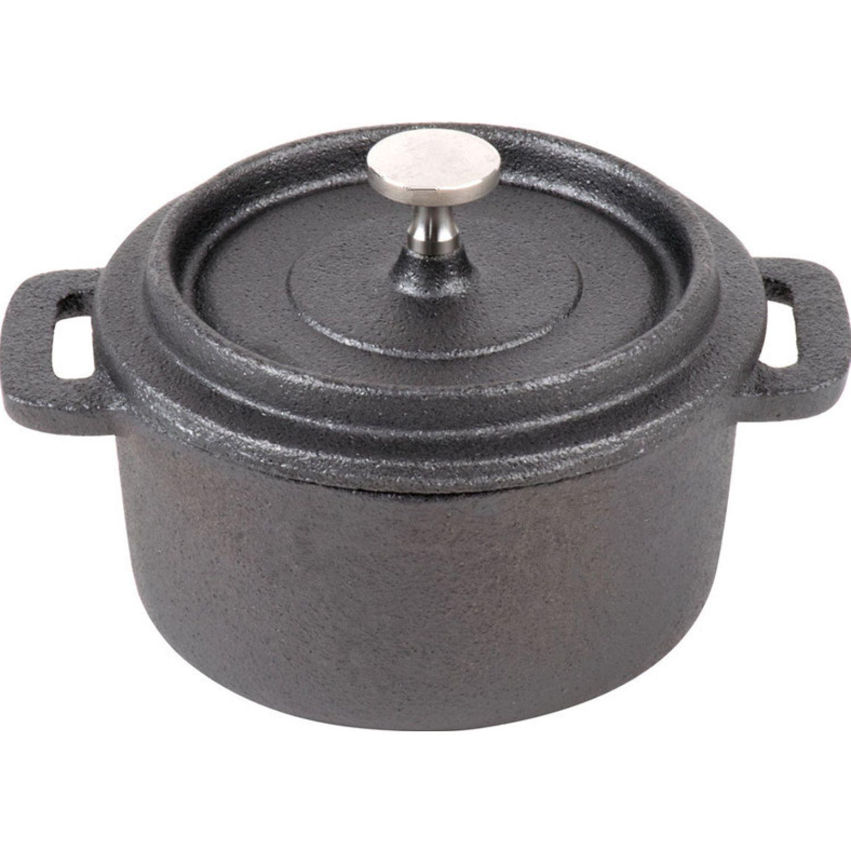 ICHIMATSU Mini Cazuela (Cocotte) 10x5 Negro Cacerolas