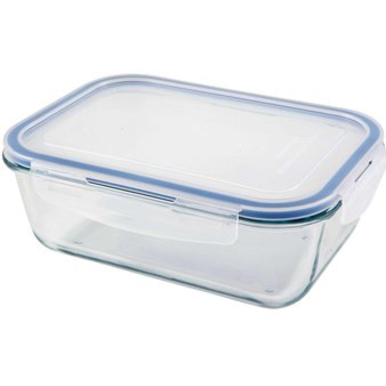 ICHIMATSU Taper Refractario Rectang.1.5 Lt Transparente Sets de almacenamiento y organización de alimentos