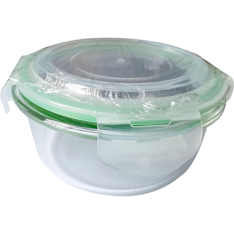 ICHIMATSU Taper Refractario Redondo 600ml Transparente Sets de almacenamiento y organización de alimentos