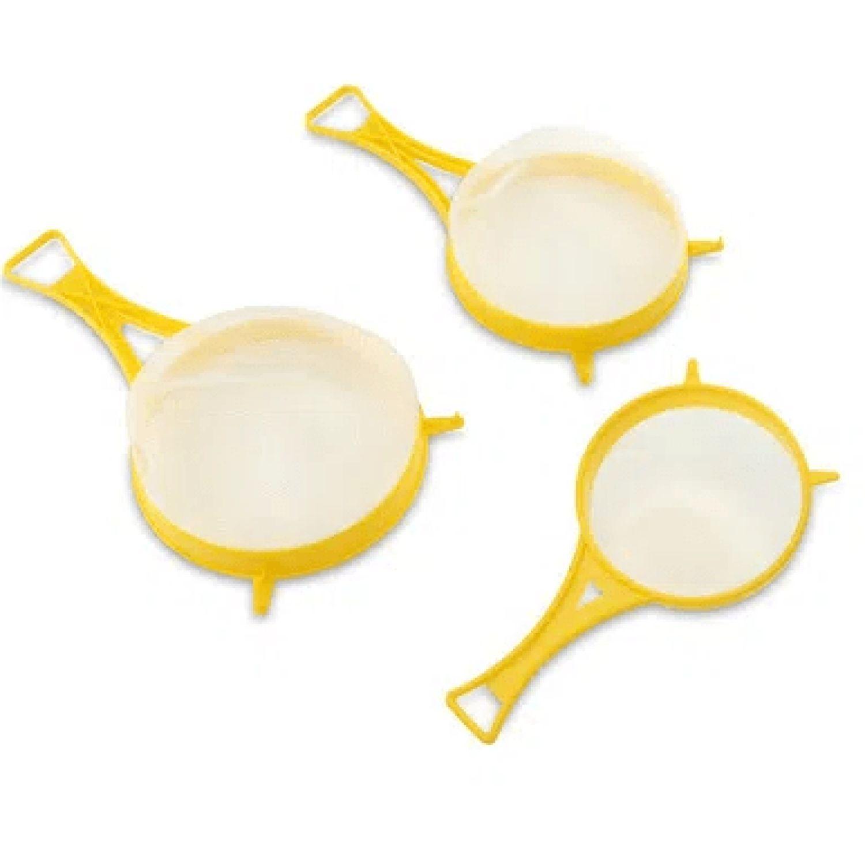 BASA Coladores Pvc X 3pz Amarillo Coladores