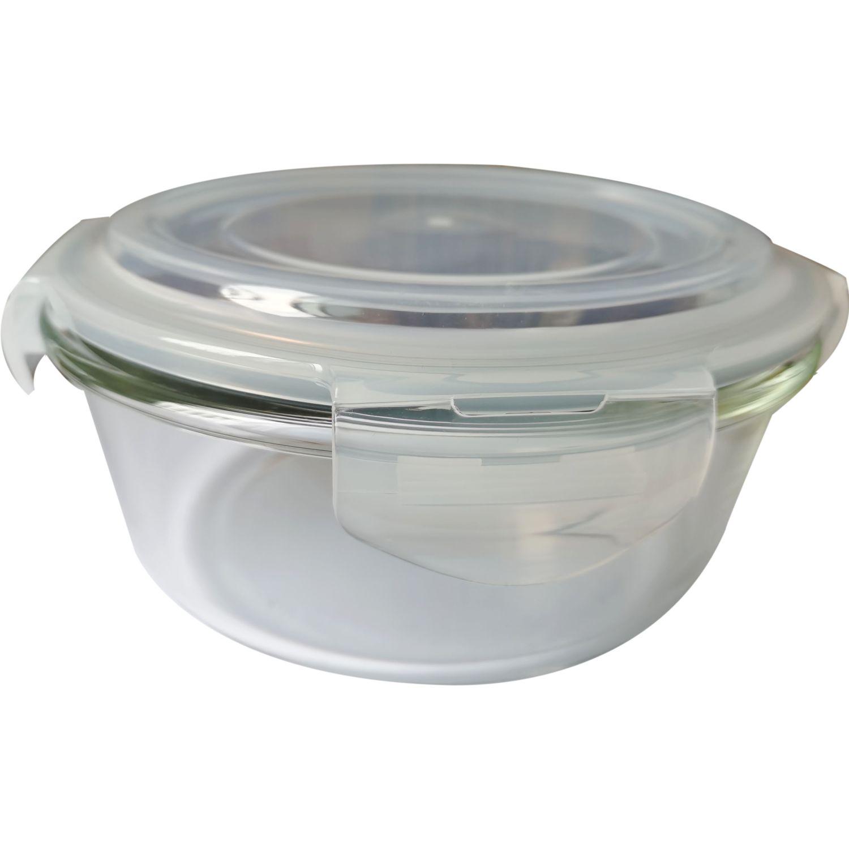 ICHIMATSU Taper Refractario Redondo 950ml Transparente Sets de almacenamiento y organización de alimentos