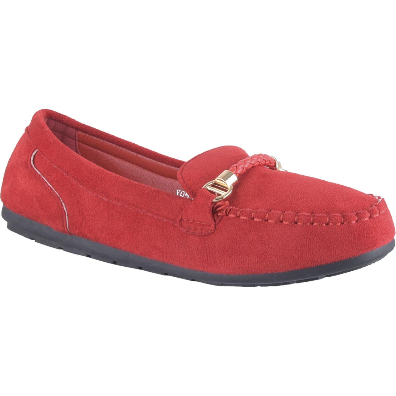 Platanitos M 3a7 Rojo Mocasines y Slip-Ons