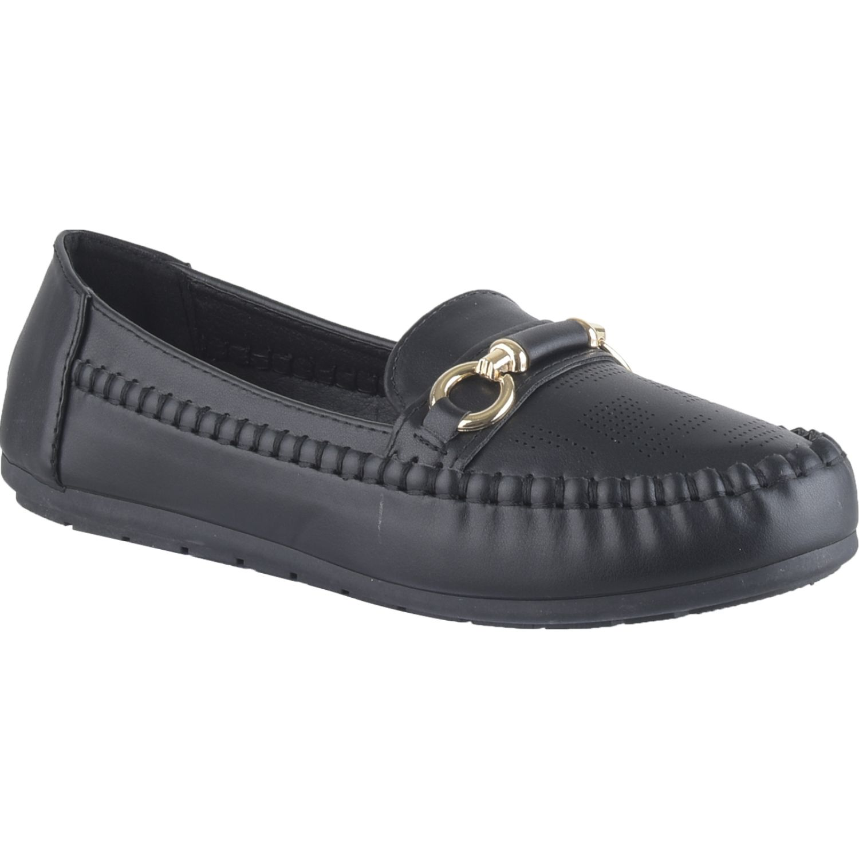 Platanitos M 3a10 Negro Mocasines y Slip-Ons