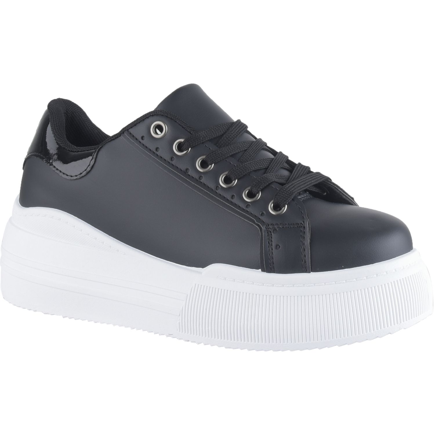 Platanitos Z 1075 Negro Zapatillas Fashion