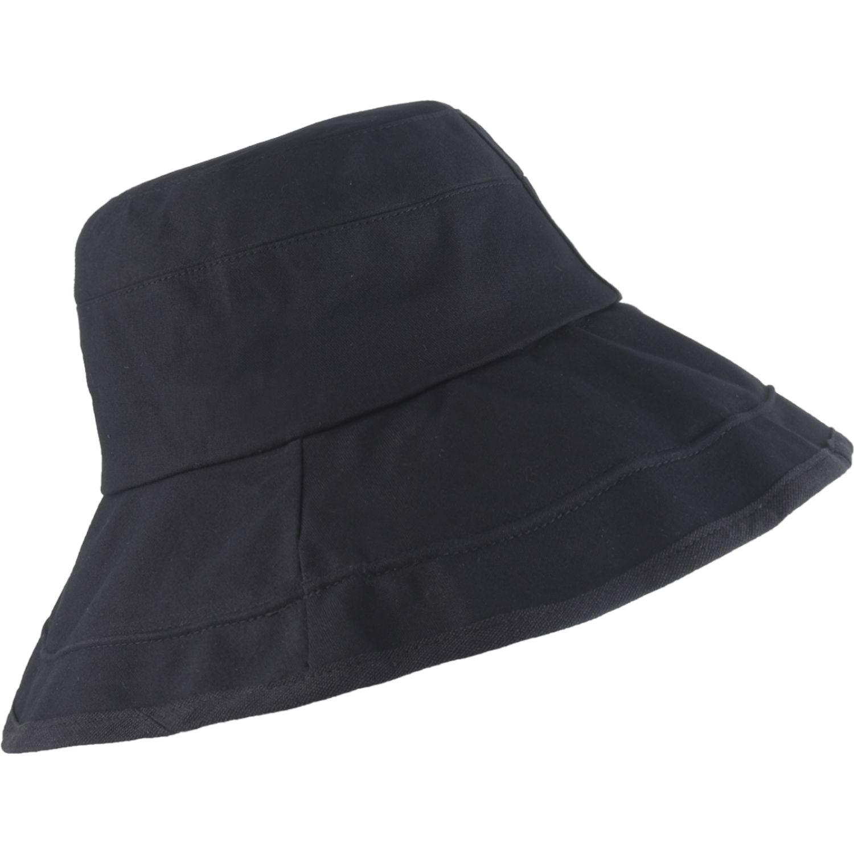 Platanitos Sombrero Dama 5008 Negro Sombreros para el sol