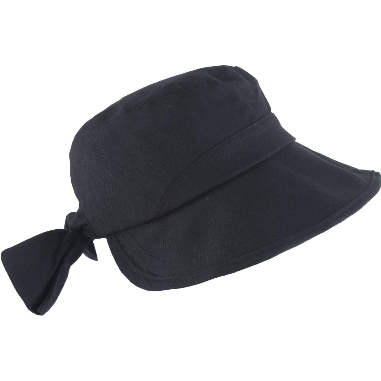Platanitos Sombrero Dama 5009 Negro Sombreros para el sol