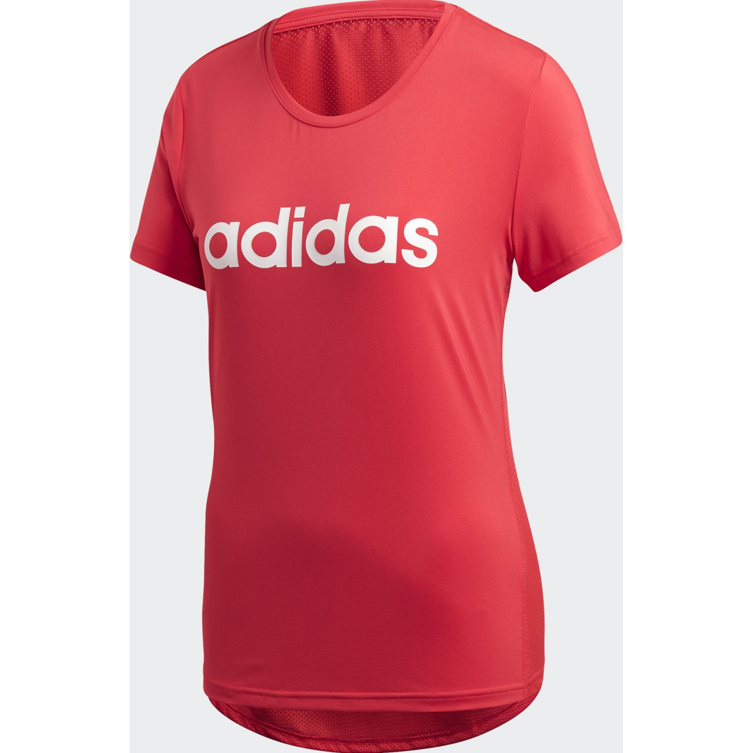 Adidas W D2m Lo Tee Coral Polos