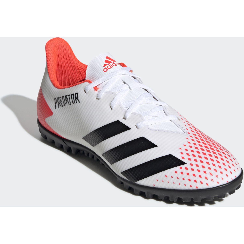 Adidas PREDATOR 20.4 TF Blanco / rojo Hombres