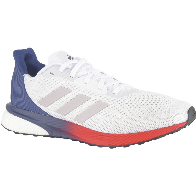 Adidas Astrarun M Blanco / rojo Correr por carretera