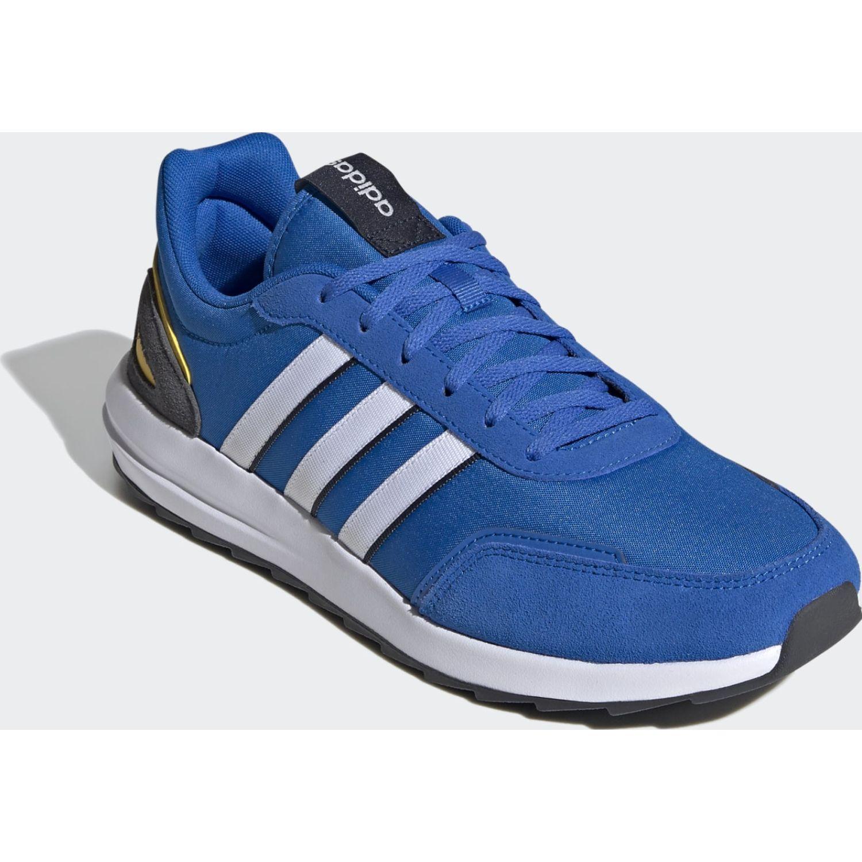 Adidas Retrorunner Azulino Running en pista