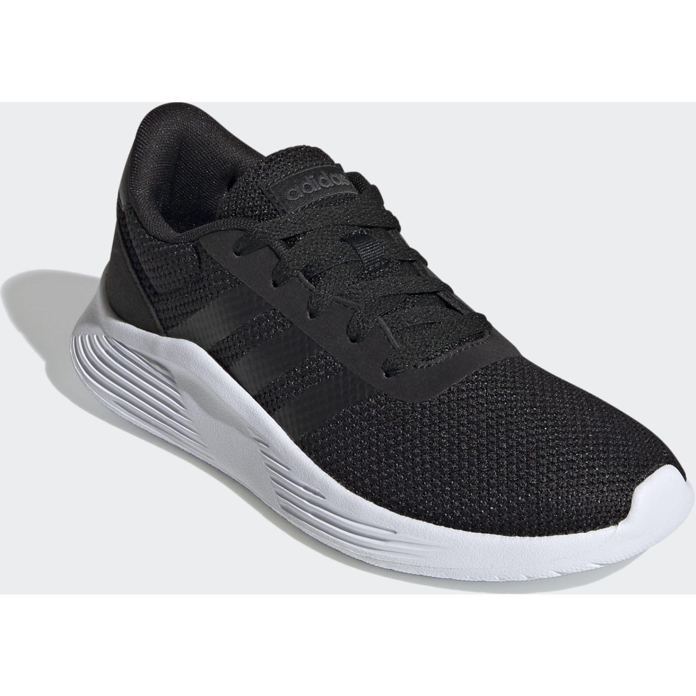 Adidas Lite Racer 2.0 Negro / blanco Correr por carretera