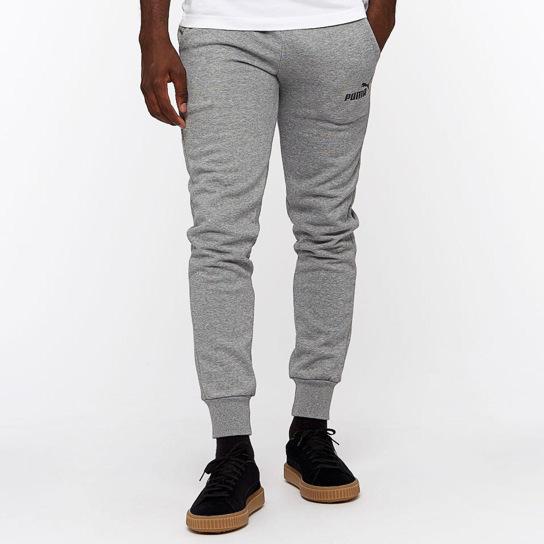 Puma ESS+ Slim Pants FL Gris Pantalones Deportivos