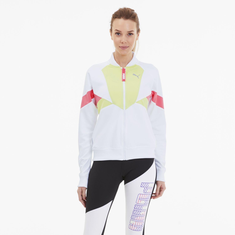Puma Last Lap Tricot Track Jacket BLANCO / VARIOS Casacas de Atletismo