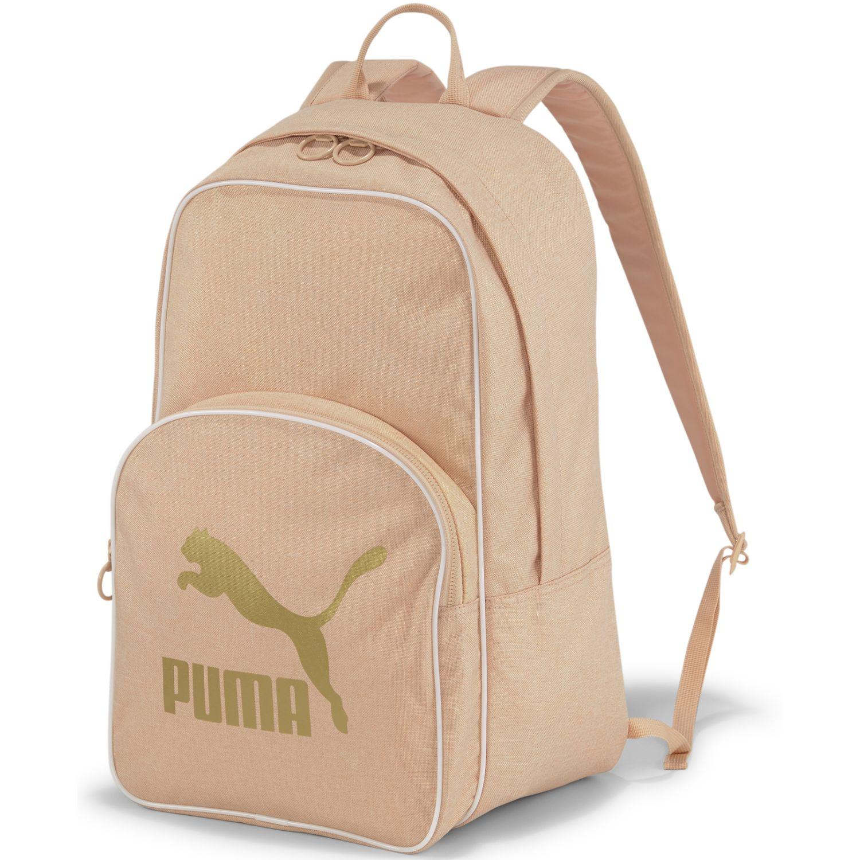 Puma Originals Backpack Retro Woven GOLDEN ROSE Mochilas multipropósitos