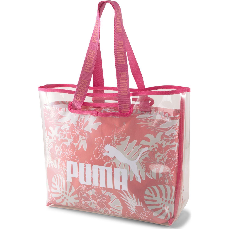 Puma WMN Core Twin Shopper Rosado bolsos de lazo