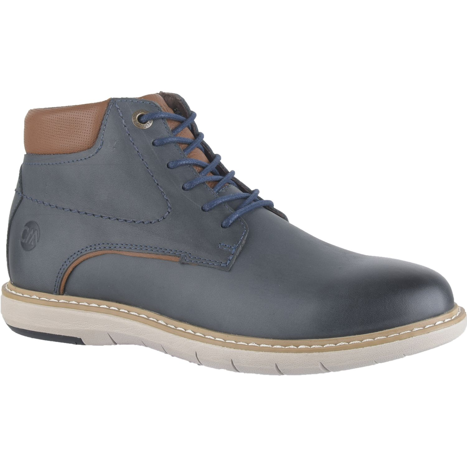 Calimod Zapato Casual Caballero Cez001to Azul Oxfords