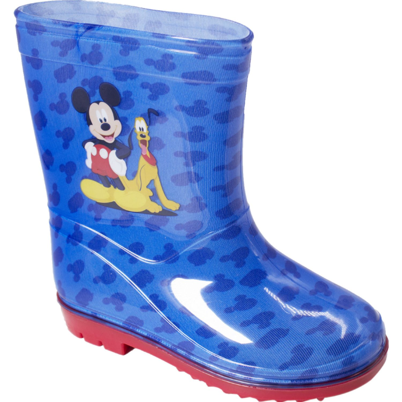 Mickey Botas Para Lluvia Mickey Azul Botas para lluvia