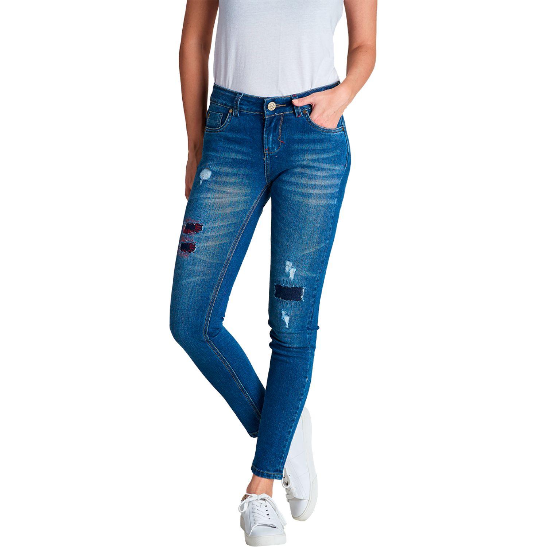 Octo Denim Co Jean Comfort Stretch Emma Azul Casual