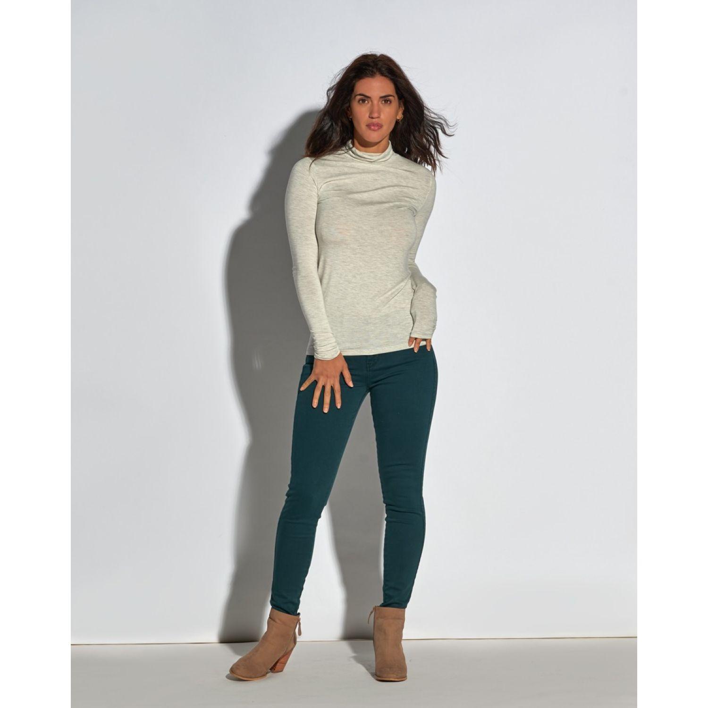 Octo Denim Co Jean Skinny Valentina Verde Verde Casual