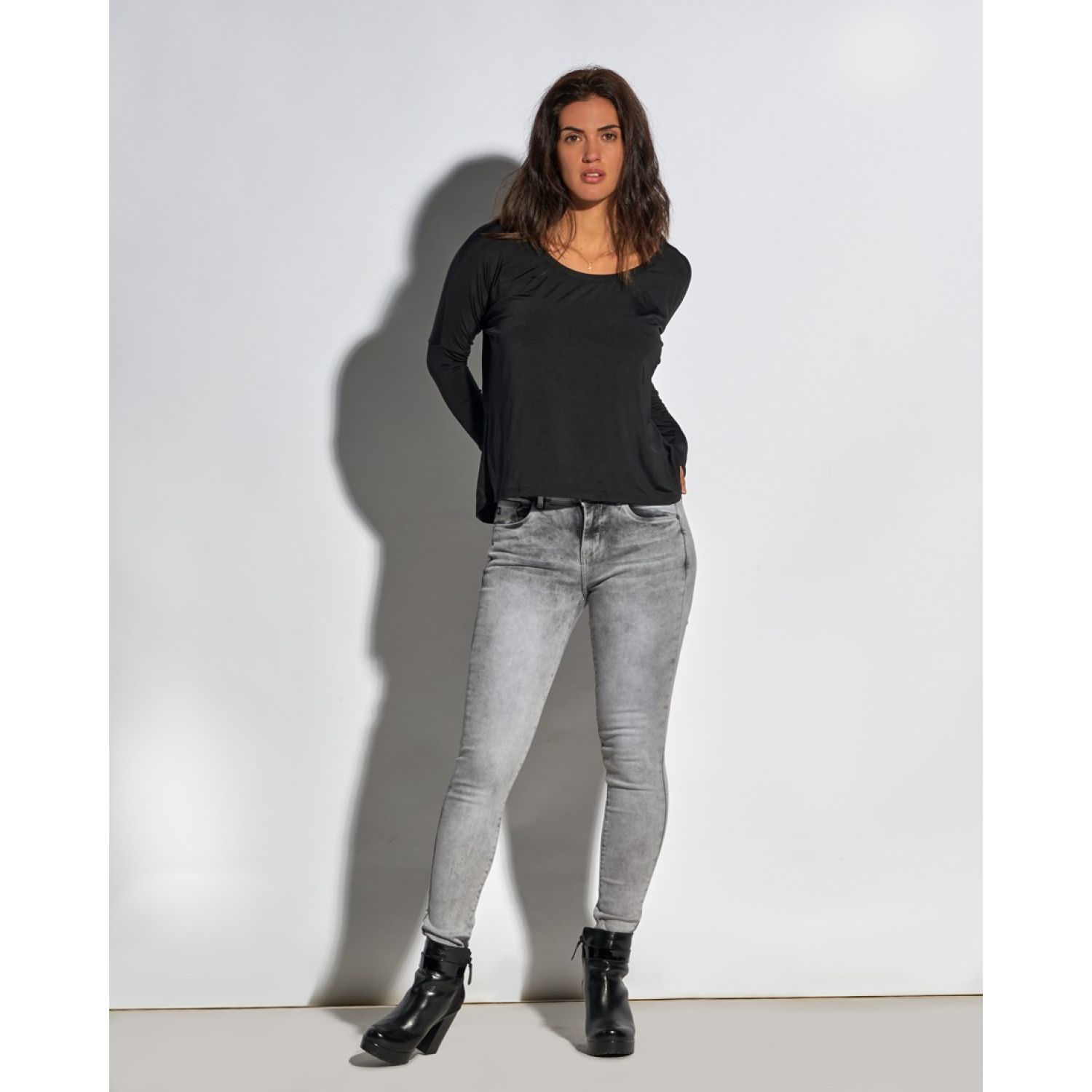 Octo Denim Co Jean Skinny Laura Gris Casual